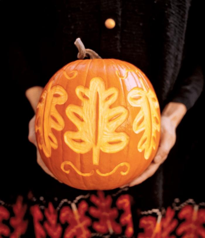 halloween græskar, pumpkin, udhulning