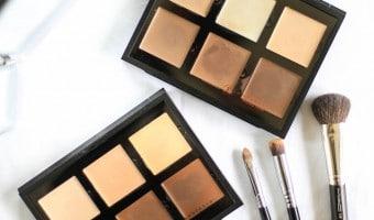 Anastasia Beverly Hills cream contour palette fair og light- farveprøver og anmeldelse