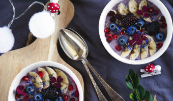 Chiagrød med acai – opskrift på nem morgenmad
