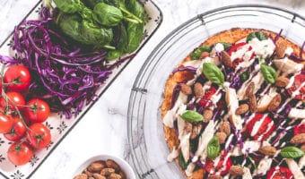 Blomkålspizza – inspiration til low carb frokost og aftensmad