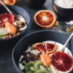 Favorit morgenmad med skyr og blodappelsin curd
