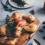 Fransk pære galette med remonce og gorgonzola