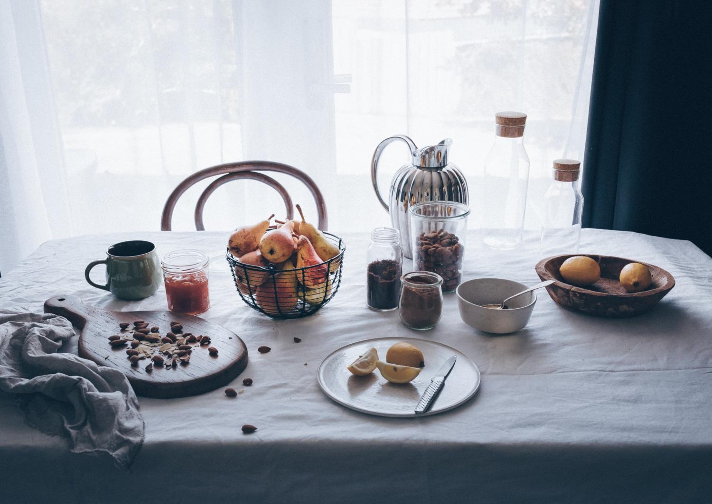 fransk galette med pære, mørdej, gorgonzola, remonce opskrift, dessert