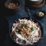 Gulerodssalat med hvidløg og valnødder