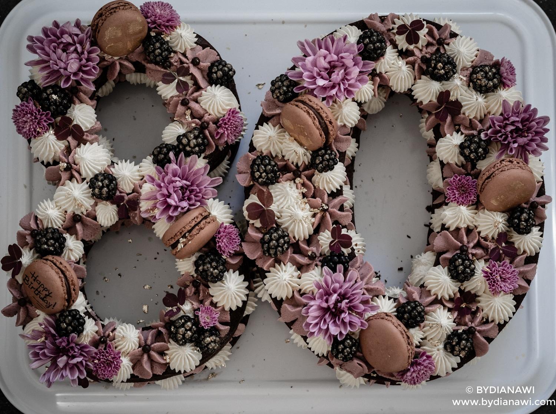 chokolade talkage, numbercake, chokoladebunde, festkage, kageinspiration, kagepynt