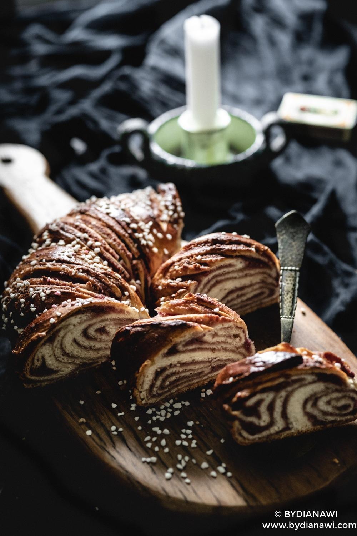 babka krans, hindbær remonce, dessert, kage