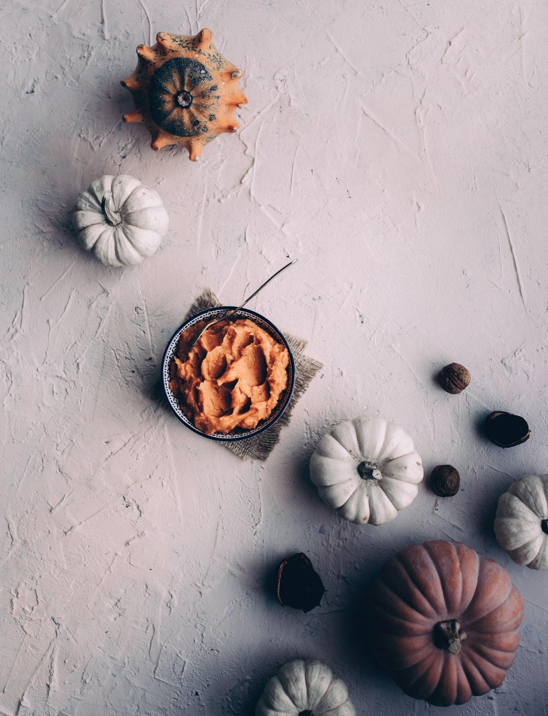 opskrifter med græskar, Hokkaido, græskarpure